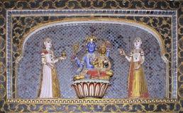 Bikaner palace Stock Image
