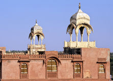 Bikaner palace royalty free stock photos