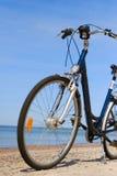 bike пляжа Стоковые Фотографии RF