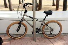 bike пляжа Стоковое Изображение