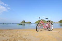 bike пляжа Стоковое Изображение RF