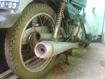 bike ржавый Стоковая Фотография