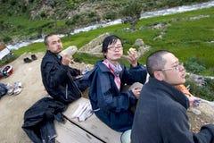 bike Тибет, котор нужно задействовать Стоковое Фото