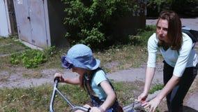 bike учя езду к акции видеоматериалы