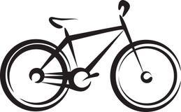 Bike. Illustration with a bike symbol royalty free illustration
