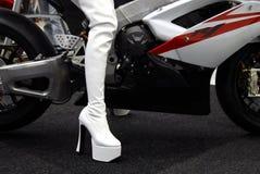 ботинки bike Стоковые Изображения RF