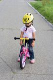 On the bike Royalty Free Stock Photography