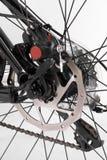 Bike. A black bike on a white background Stock Photo
