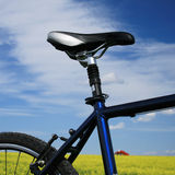 Bike. Fragment of bicycle of the racing bike Royalty Free Stock Photos