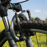 Bike. Fragment of bicycle of the racing bike Royalty Free Stock Photography