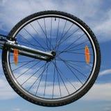 Bike. Fragment of bicycle of the racing bike Royalty Free Stock Image