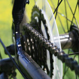 Bike. Fragment of bicycle of the racing bike Royalty Free Stock Photo
