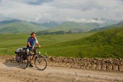 Bike Adventure Stock Photo