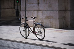 Bike in lisbon Royalty Free Stock Photos