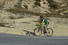Bike al jinete fotos de archivo libres de regalías