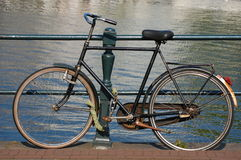 A bike in Amsterdam, Holland Royalty Free Stock Image