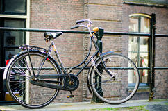 Bike in Amsterdam Royalty Free Stock Photography