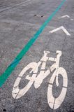 Bike area circulation transport road Royalty Free Stock Image