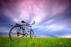 Bike background Royalty Free Stock Images