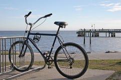 Bike on the Beach Royalty Free Stock Photo