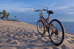 Bike at the beach. In South of Thailand Stock Images