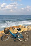 Bike on a beach Royalty Free Stock Image