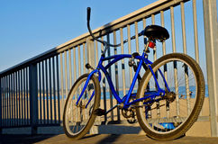 Bike at Beach Stock Image