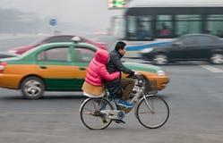 Bike in Beijing Royalty Free Stock Photos