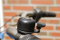Bike bell. Bicycle bell on a bike Royalty Free Stock Image