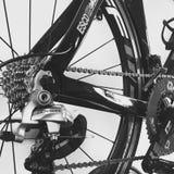 Bike. Black and white bike Royalty Free Stock Photo