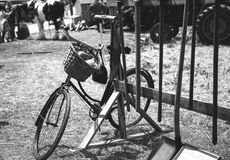 Bike black and white Royalty Free Stock Photo