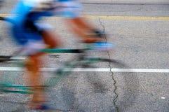 Bike blur Royalty Free Stock Photography