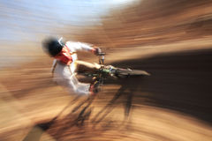 Bike Blur Stock Image