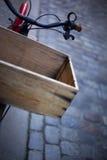 Bike and box Stock Photos