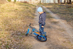 By bike Royalty Free Stock Images