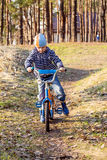 By bike Royalty Free Stock Photography