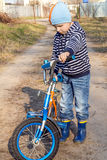 By bike Stock Photography