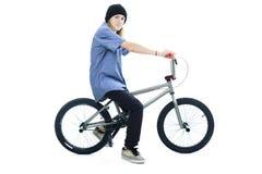 Bike boy Stock Photography