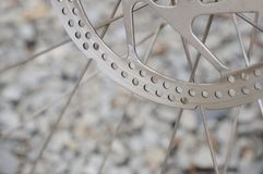 Bike brake disk Royalty Free Stock Image