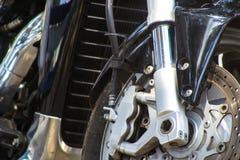 Bike brakes on wheel. Black Bike brakes on wheel Stock Images