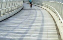 Bike Bridge Royalty Free Stock Photo