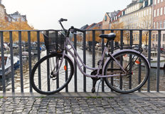 Bike in Copenhagen, Denmark Stock Photo