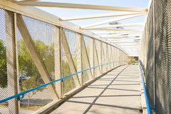 Bike Bridge in Santa Clarita Stock Images
