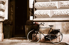 Bike in Budapest Stock Photography