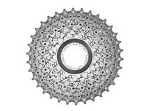 Bike Cassette in 3D Royalty Free Stock Photos