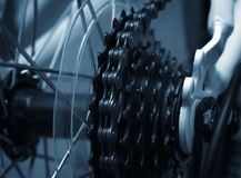 Bike chain Stock Images
