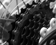 Bike chain Stock Photo