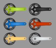 Bike chainring Royalty Free Stock Photo