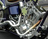 Bike, Chrome, Clean royalty free stock image
