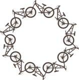 Bike circle Royalty Free Stock Photos